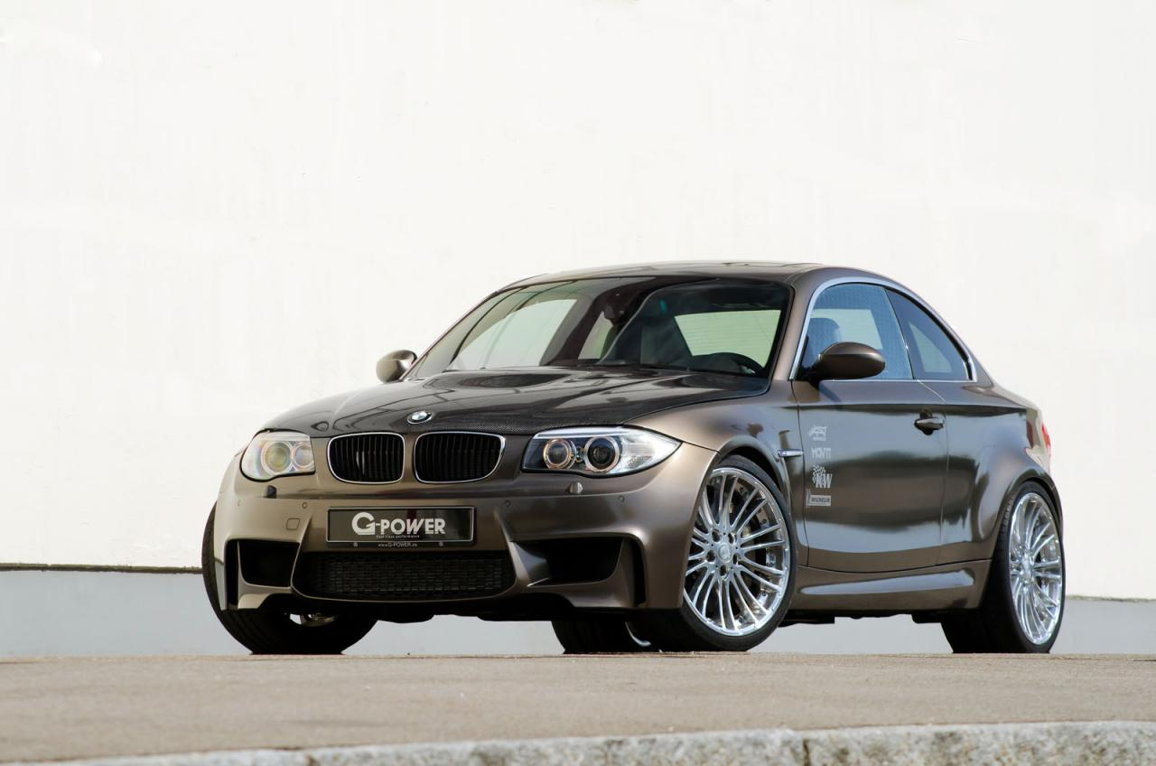 g power tuned bmw 1 series m coup with 4 0 litre v8. Black Bedroom Furniture Sets. Home Design Ideas