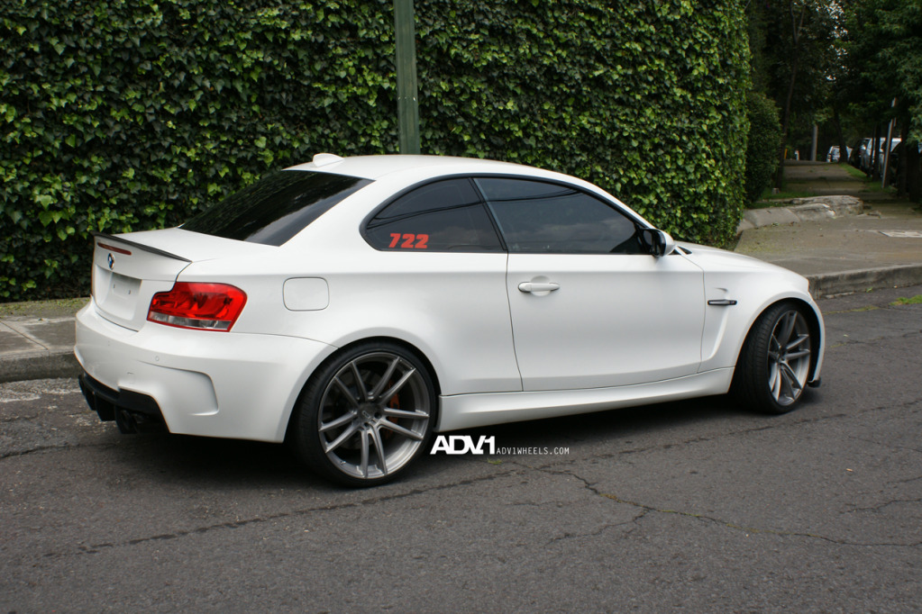 Bmw 1 Series M Coupe On Adv 1 5 2 1 Monoblock Sl Forcegt Com