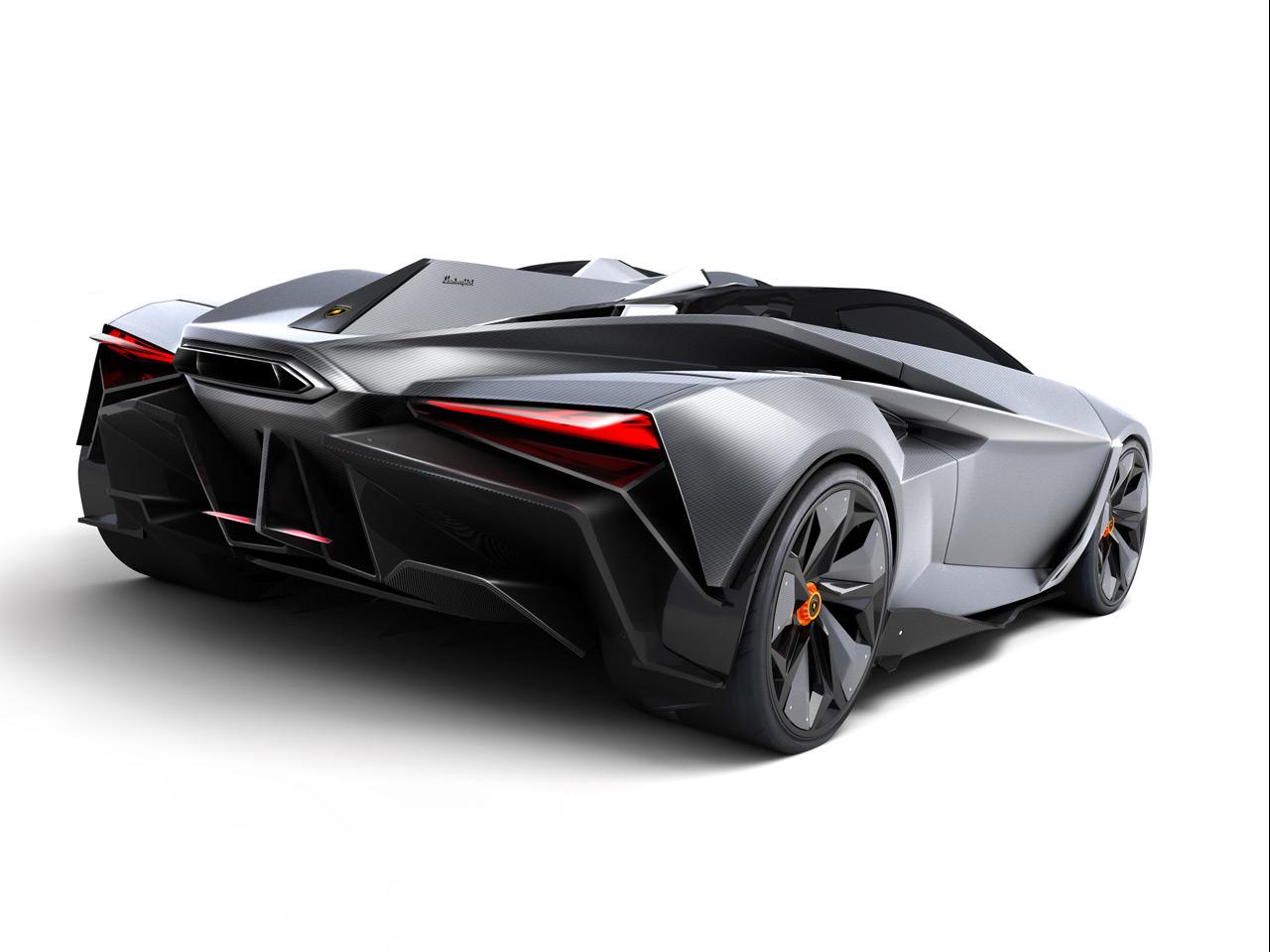 Bugatti Veyron Going Back To The Future Art Promo: Lamborghini Perdigón Concept To Rival Bugatti Veyron