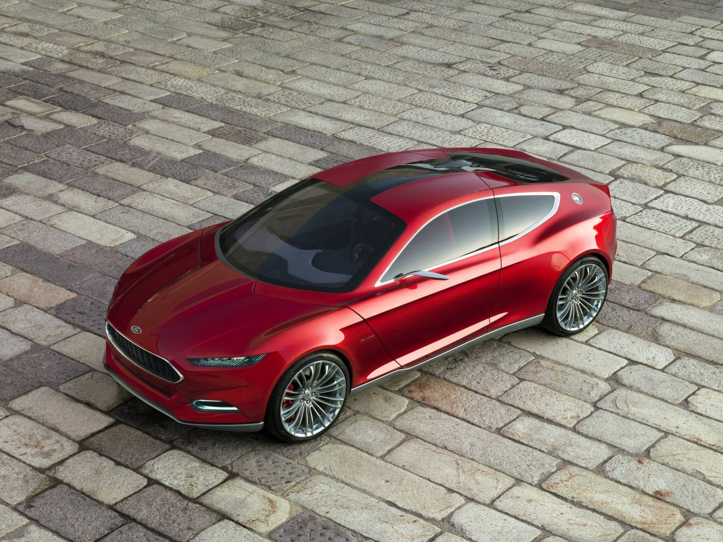 Ford Cars - News: Evos Concept