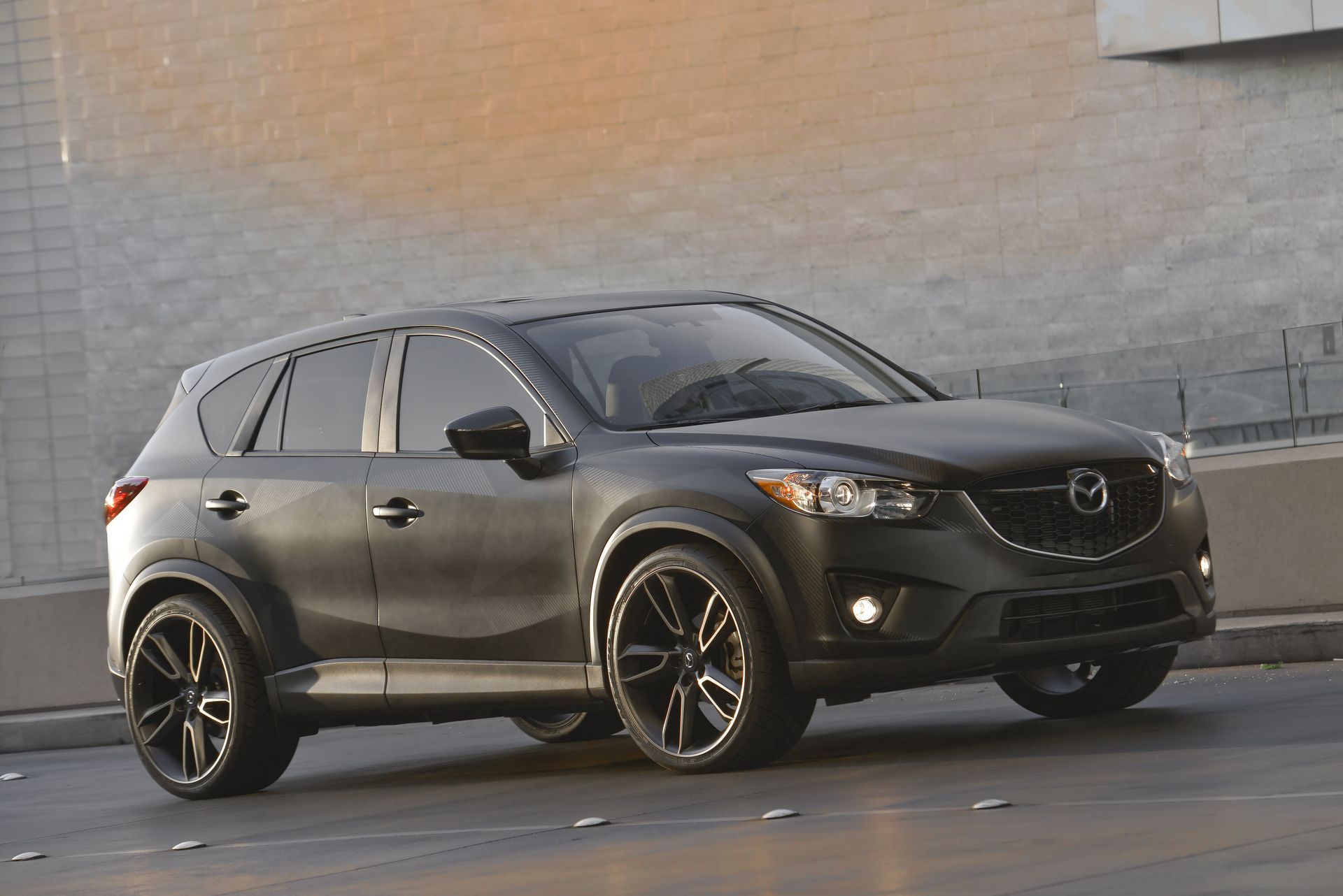 custom mazda cx 5 urban unveiled at sema 2012. Black Bedroom Furniture Sets. Home Design Ideas