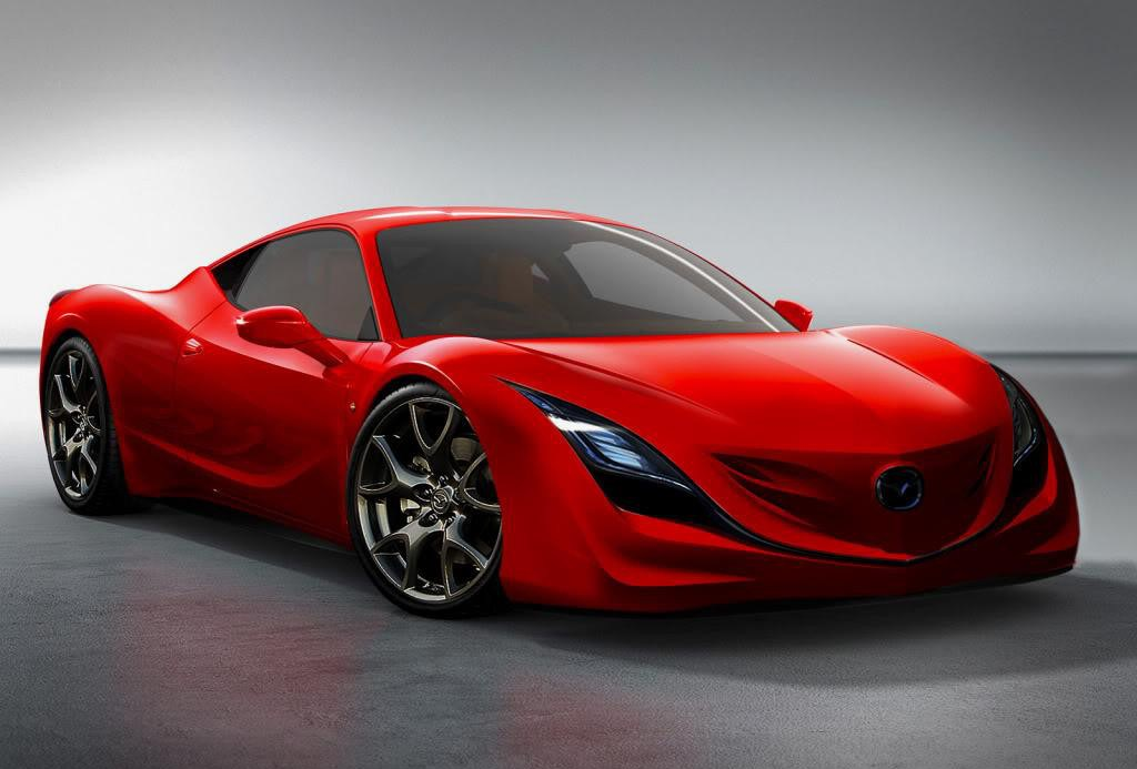 Mazda Cars - News: Next RX-7 zooms in around 2017