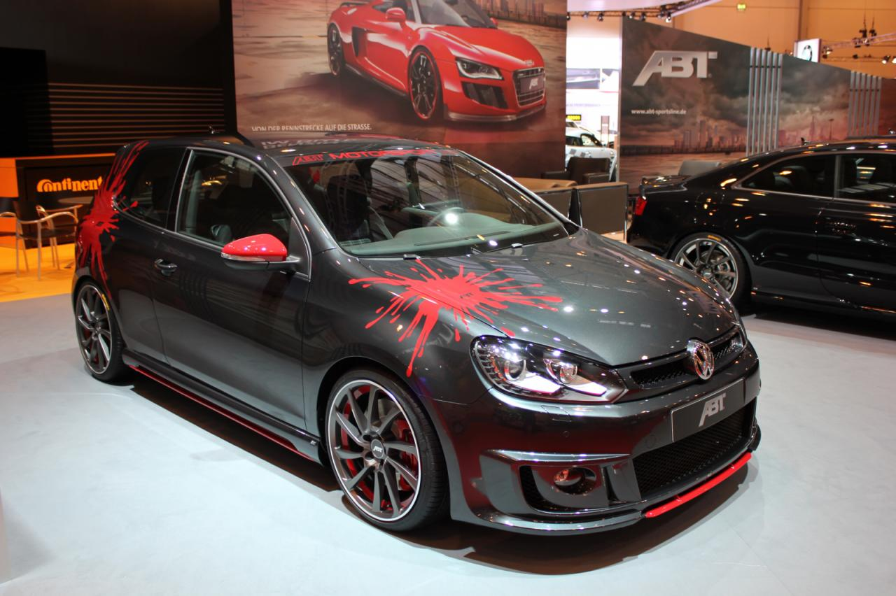 volkswagen cars news abt tuned mk6 golf gti. Black Bedroom Furniture Sets. Home Design Ideas