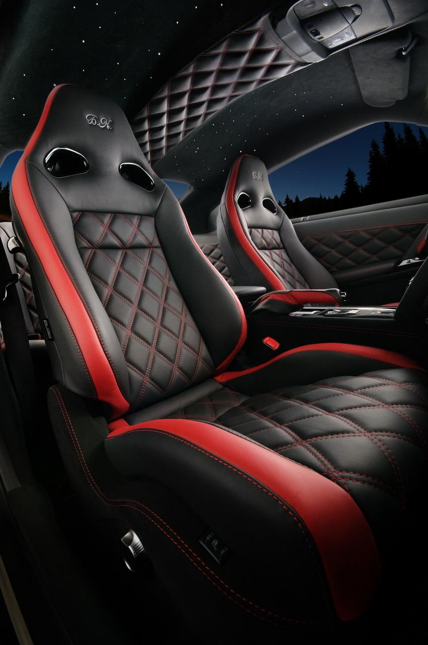 Nissan tuning vilner customises gt r interior for Auto interior design ideas
