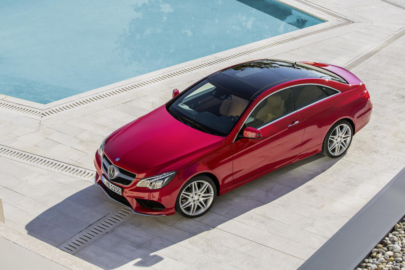 Mercedes reveals facelifted 2013 e class coupe and for 2013 mercedes benz e class coupe