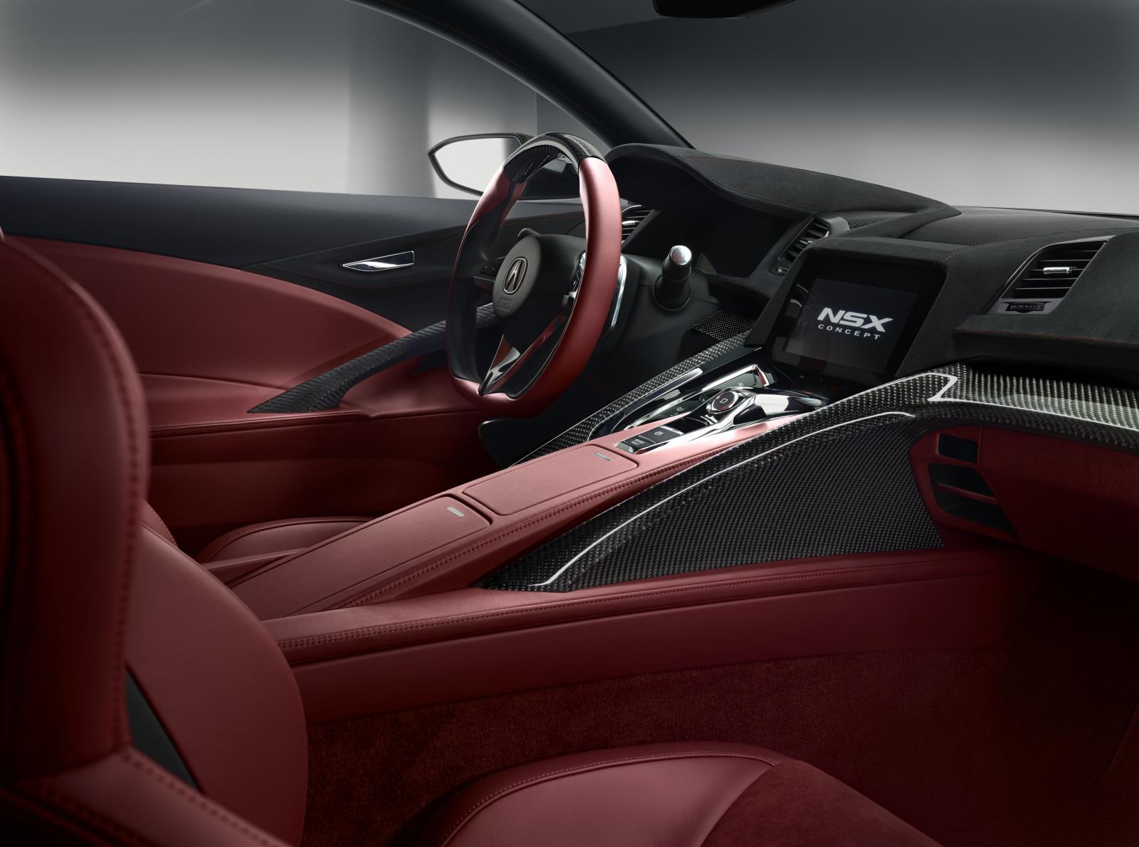 Honda cars news nsx concept interior for New interior