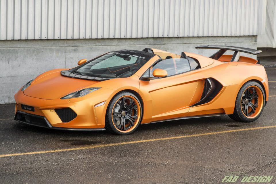 Fab Design Mp4 12c Terso Fab Design Mclaren Mp4-12c