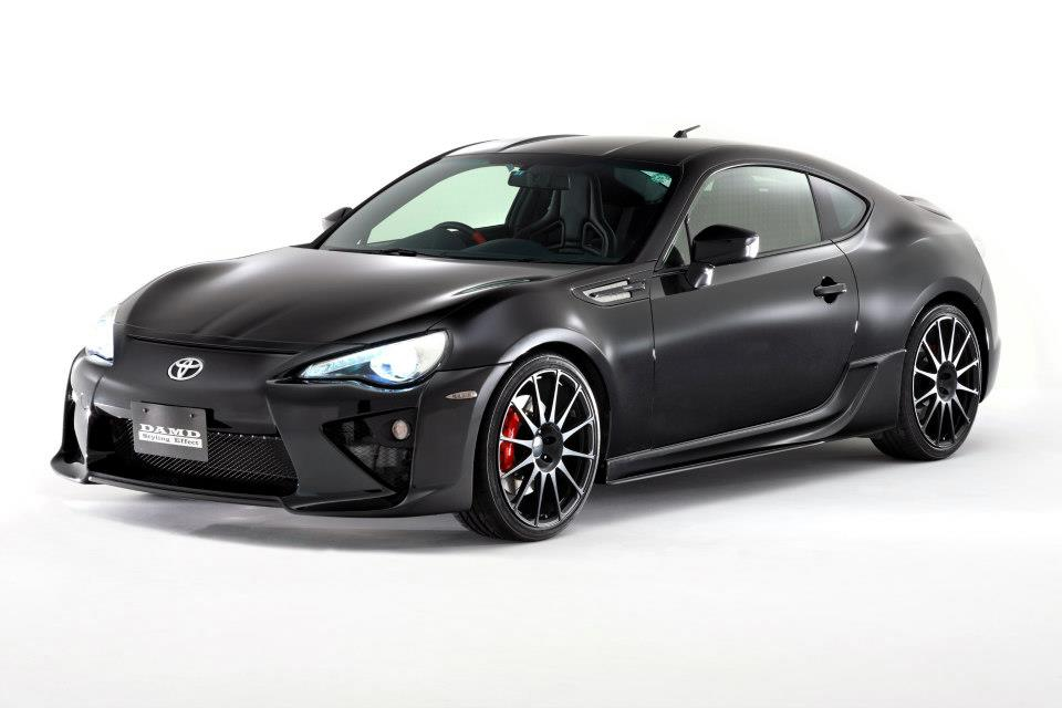 2013 tokyo auto salon toyota 86 body kit round up. Black Bedroom Furniture Sets. Home Design Ideas