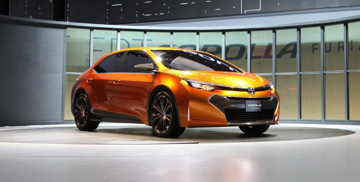 Toyota Corolla Furia Concept Revealed Previews Future