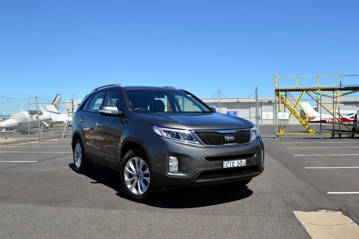 Kia Sorento Review: 2012 Sorento