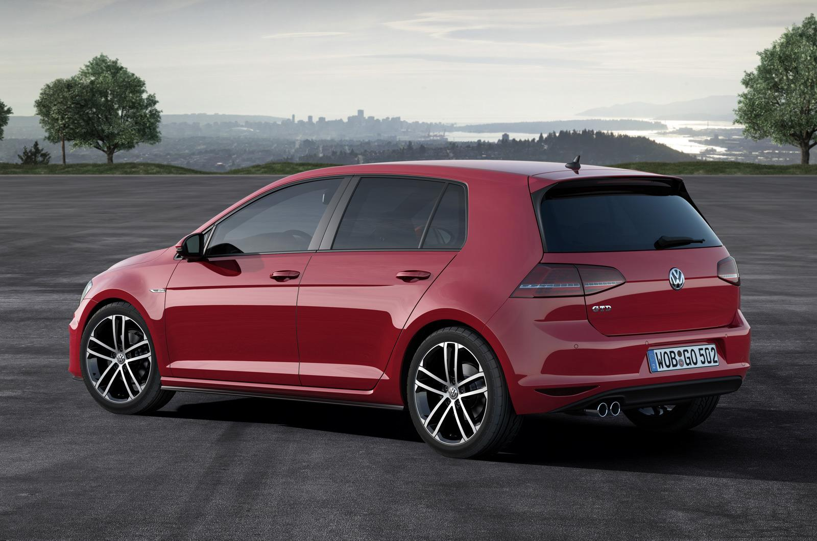 volkswagen cars news 2013 mk7 golf gtd uncovered. Black Bedroom Furniture Sets. Home Design Ideas