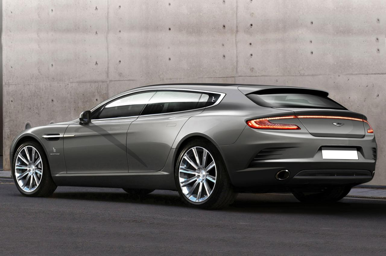 aston martin news aston martin shooting brake concept by bertone. Black Bedroom Furniture Sets. Home Design Ideas