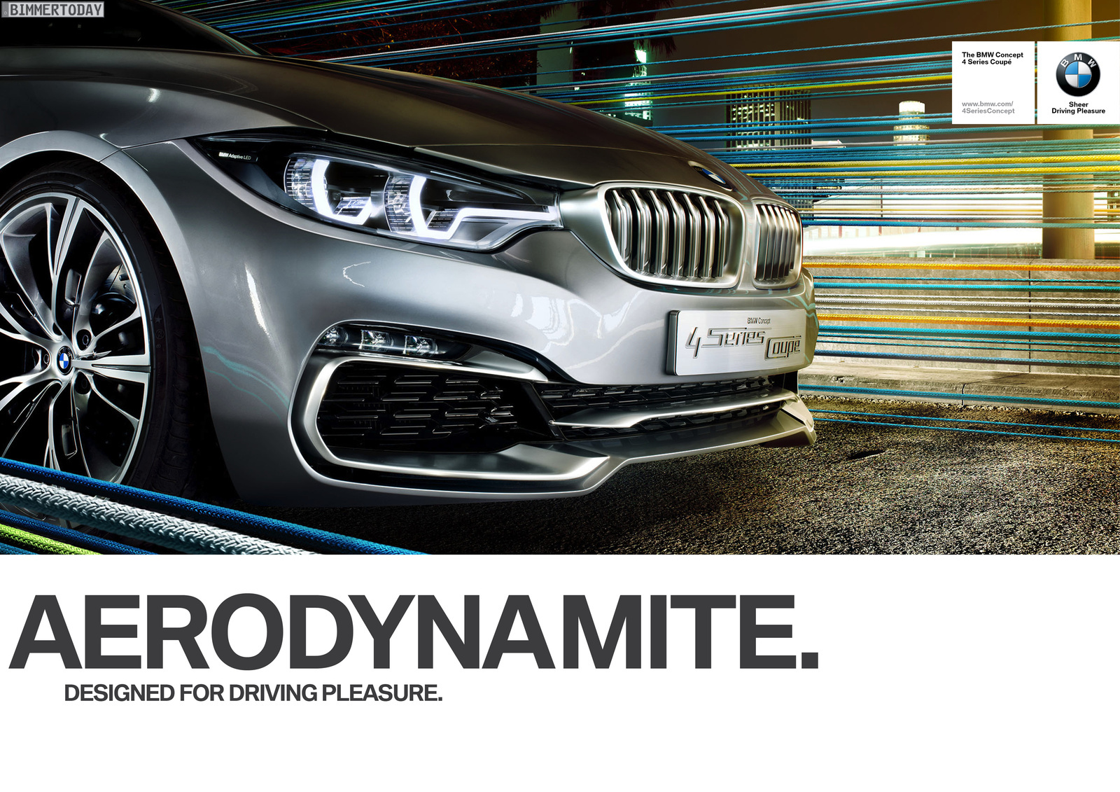 Bmw 4 Series Coupe Gets Tv Ad And Prints Video Forcegt Com