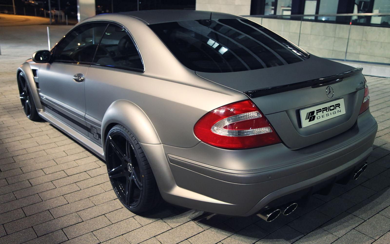 Mercedes benz clk black series kit by prior design 9 for Mercedes benz clk body kit