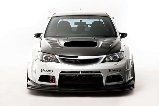 Subaru Cars Tuning Varis Wrx Sti Wide Body Kit