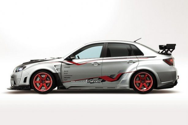 Subaru Impreza Wrx Sti 4 Door Wide Body Version With Varis
