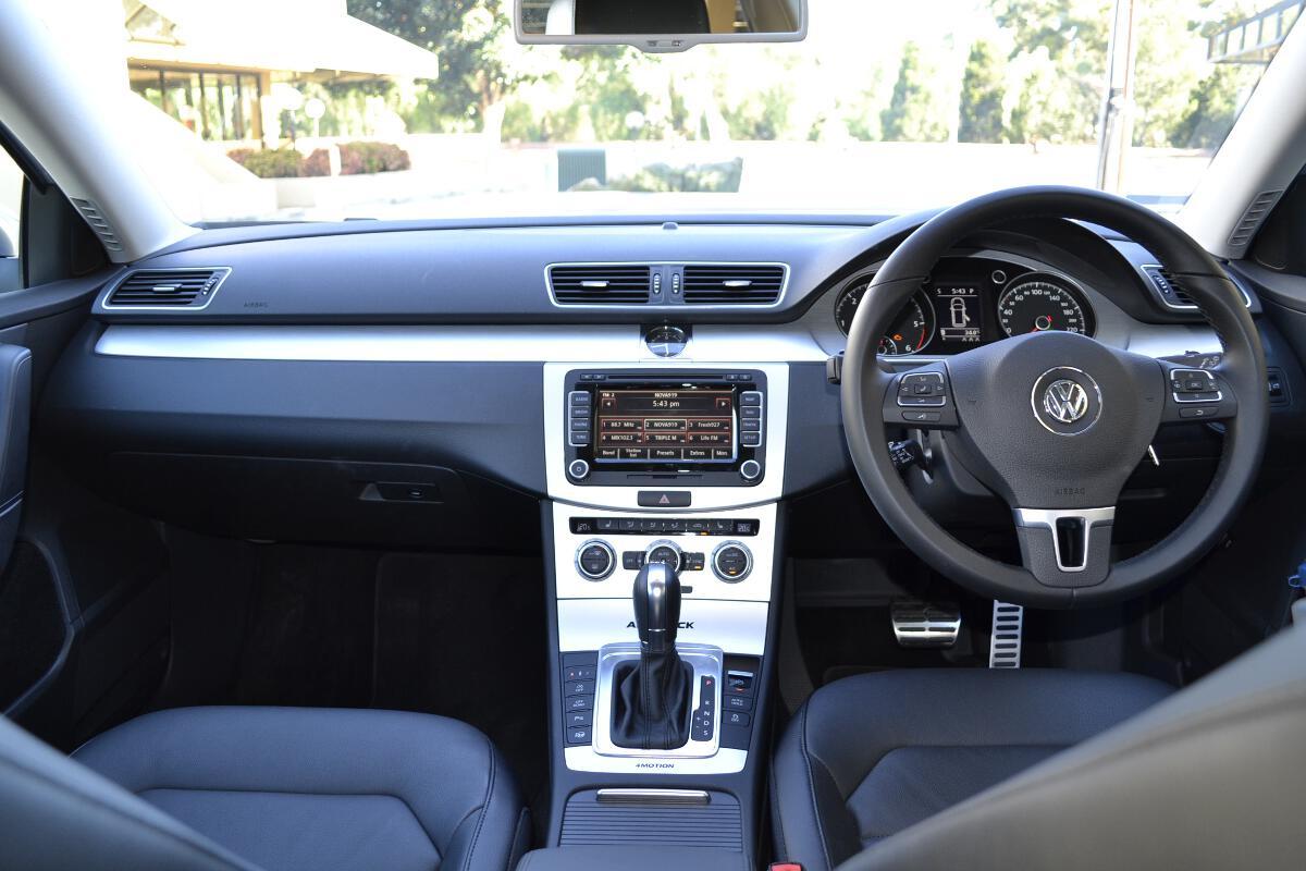 Volkswagen Passat Review 2013 Passat Alltrack