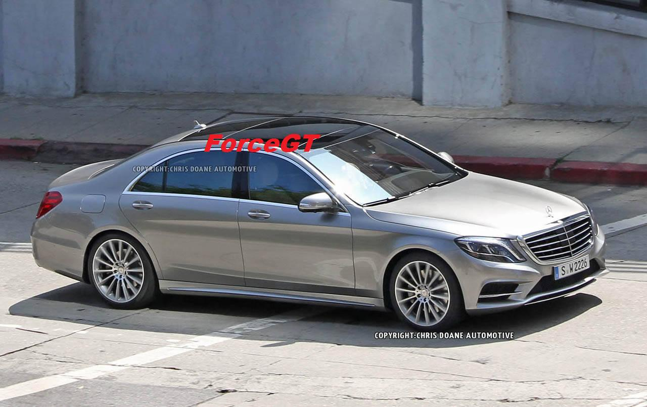2014 mercedes benz s class uncovered with official interior shots. Black Bedroom Furniture Sets. Home Design Ideas