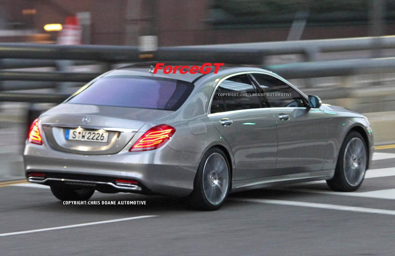 2014 mercedes benz s class uncovered with official for Mercedes benz class s