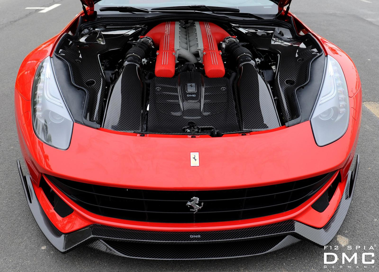 ferrari f12 berlinetta 39 spia 39 tuned by dmc. Black Bedroom Furniture Sets. Home Design Ideas