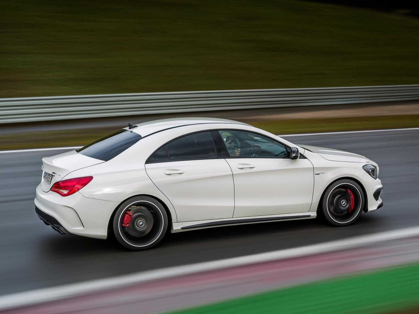 Mercedes benz cla 45 amg revealed ahead of new york debut for The price of mercedes benz