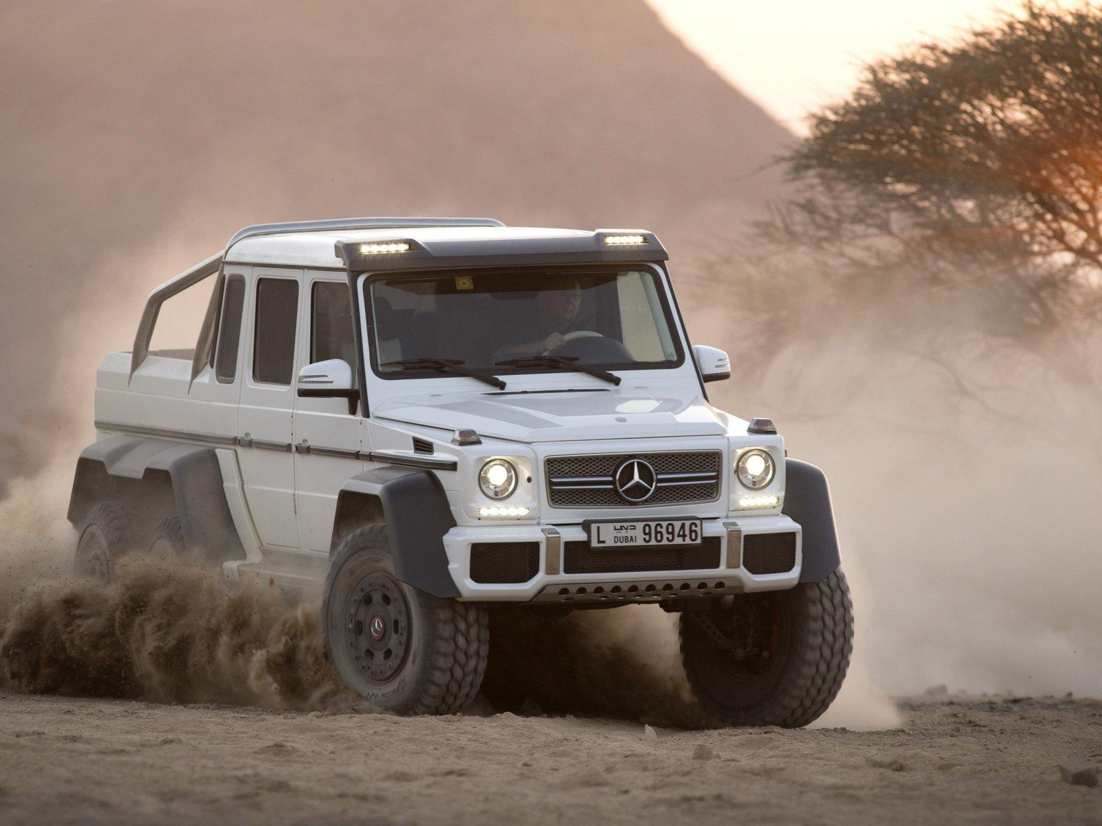 Mercedes Benz Cars News G63 Amg 6x6