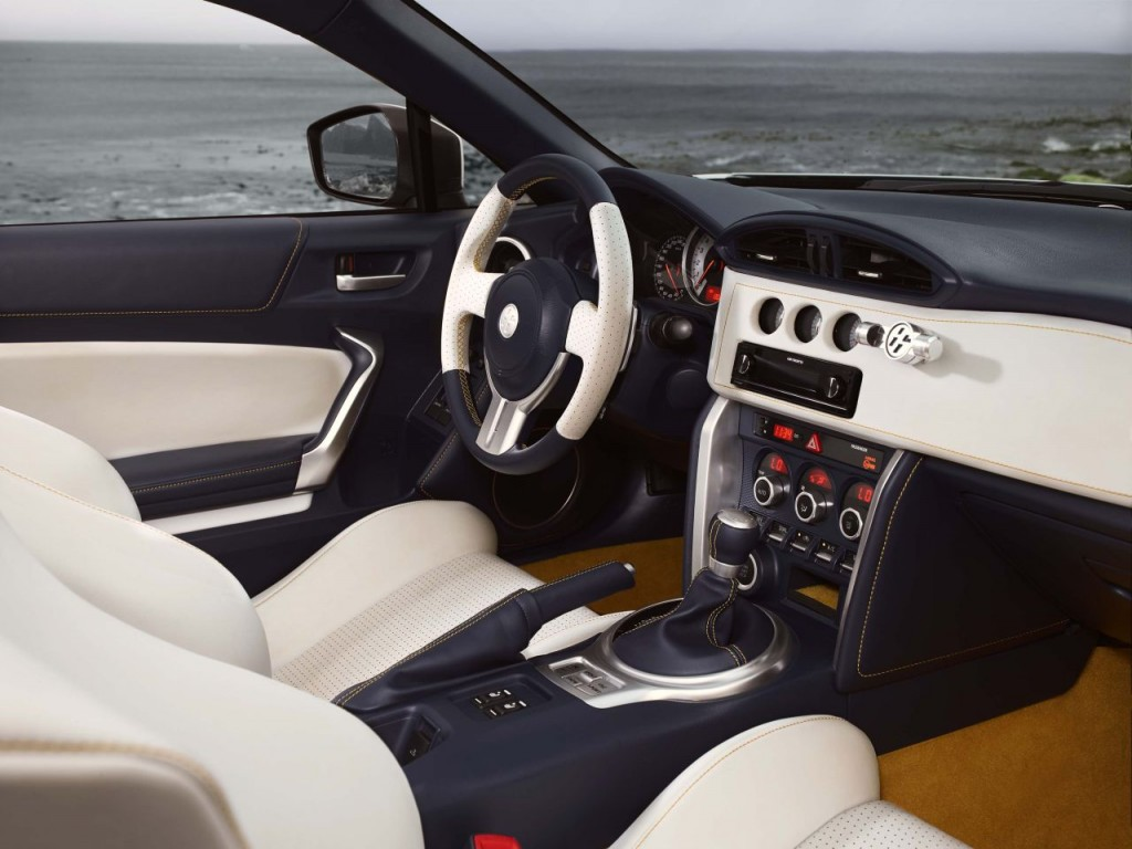 Toyota 86 Convertible Interior 5 Forcegt Com