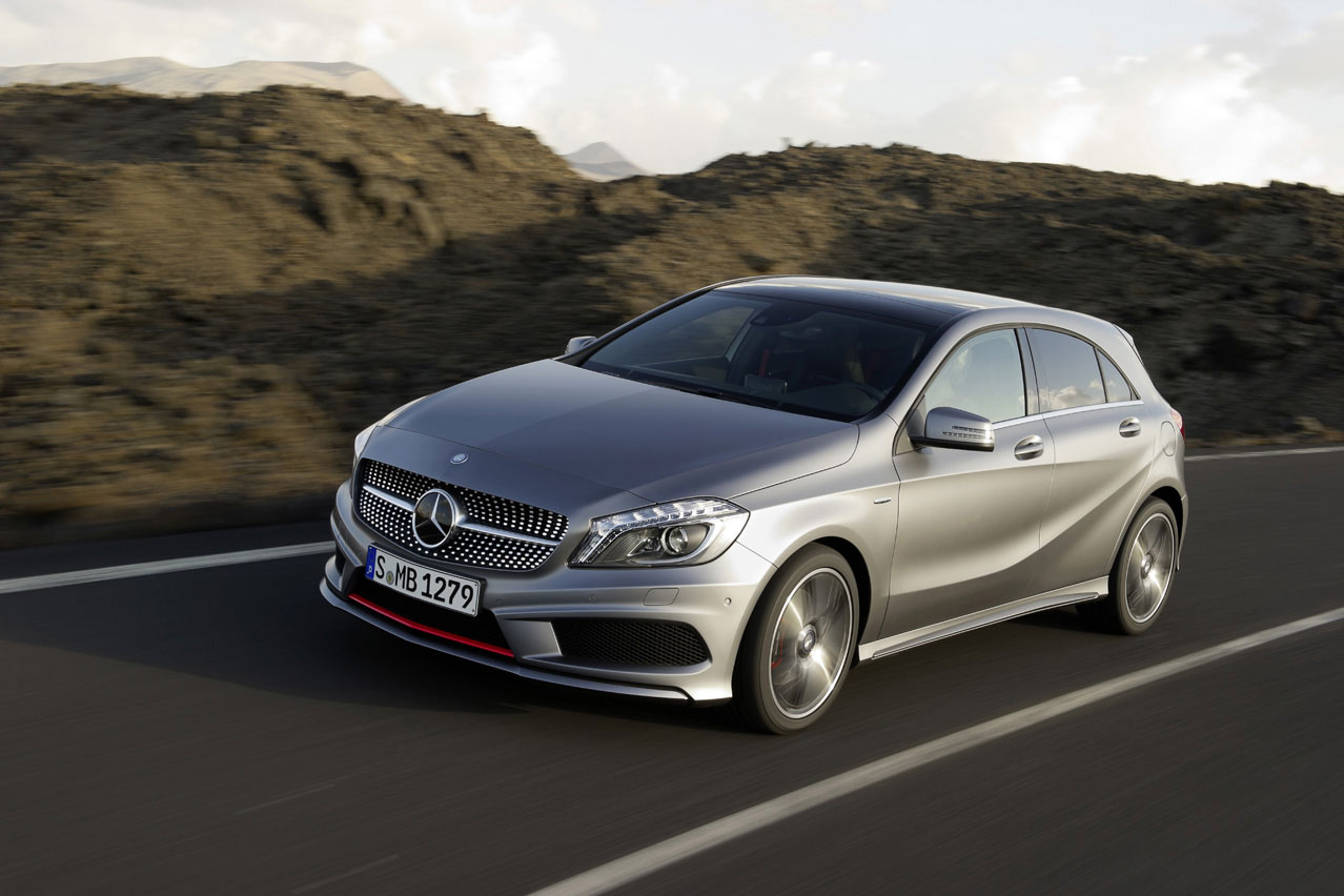 Mercedes benz cars news a45 amg pricing announced for The newest mercedes benz