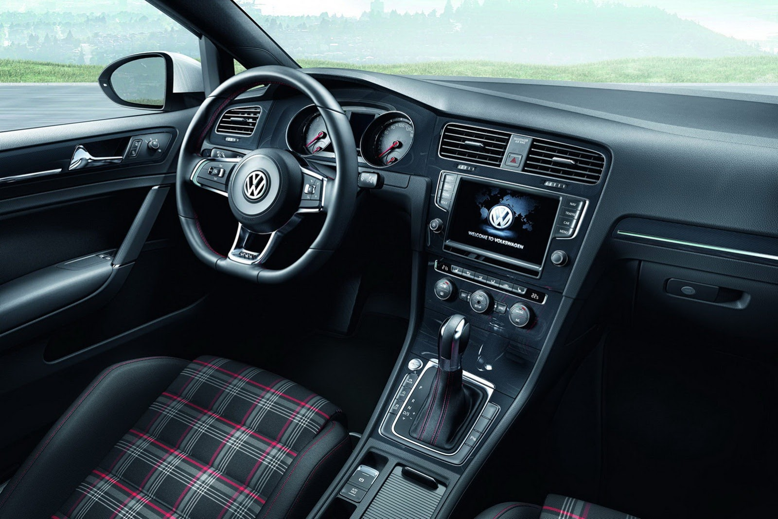 2013 Mk7 Vw Golf Gti Interior 1 Forcegt Com