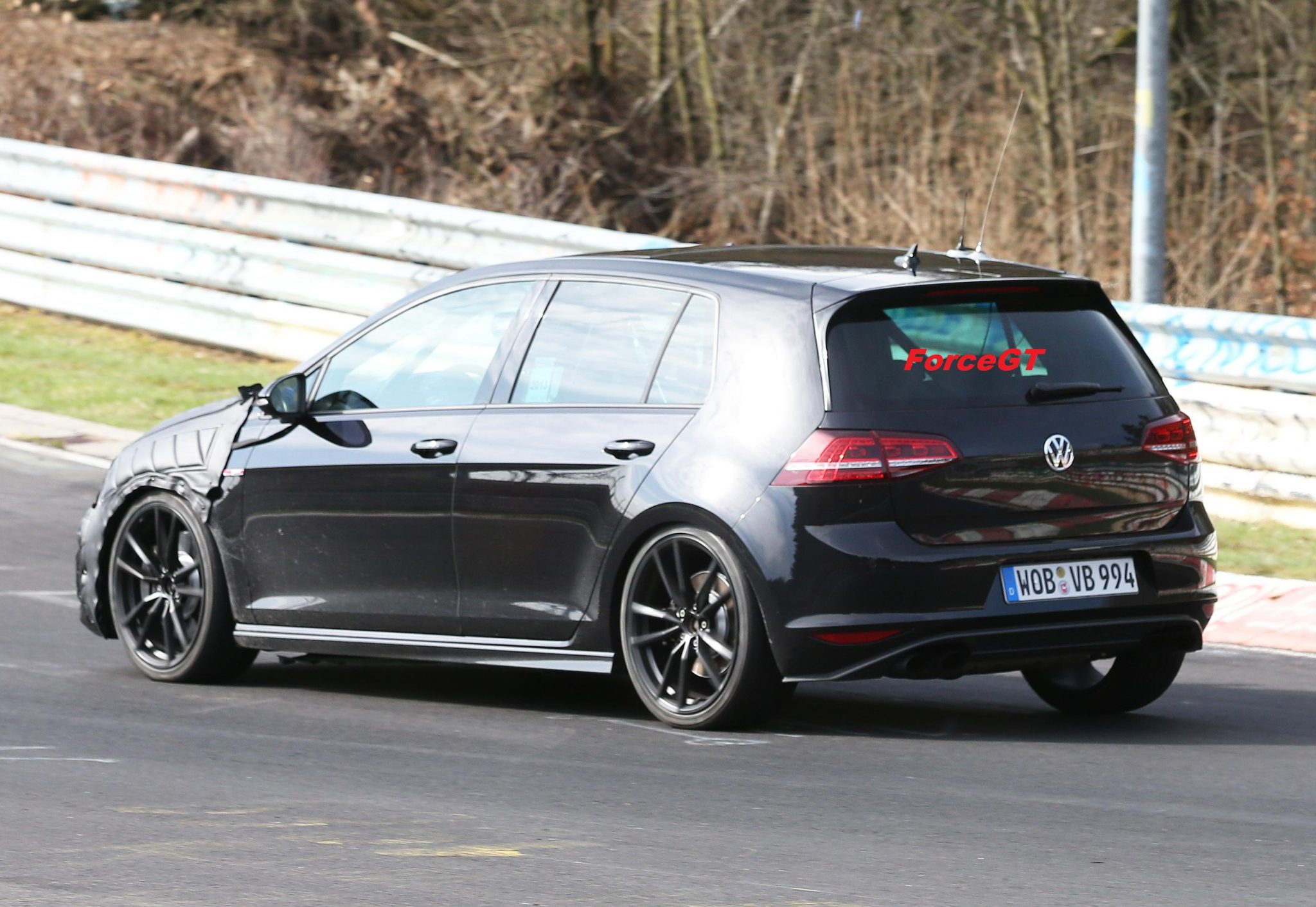 volkswagen cars news 2014 mk7 golf r spied on the 39 ring. Black Bedroom Furniture Sets. Home Design Ideas