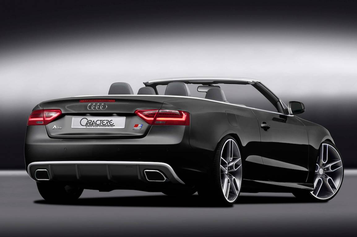 audi cars news a5 cabriolet customised by caractere. Black Bedroom Furniture Sets. Home Design Ideas