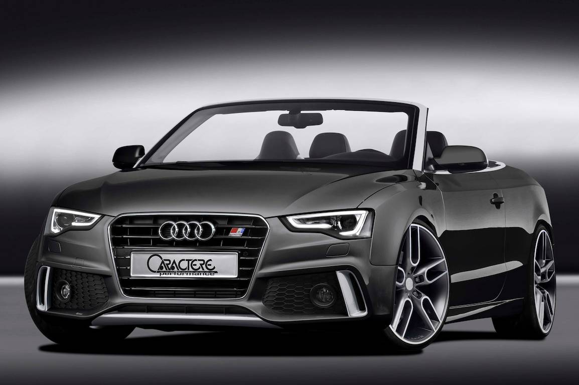 Audi A5 Cabriolet customised by Caractere