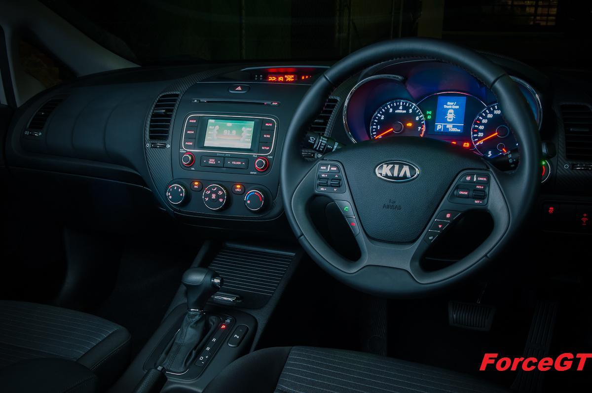 Kia Cerato Review 2013 Sedan Under Hood The