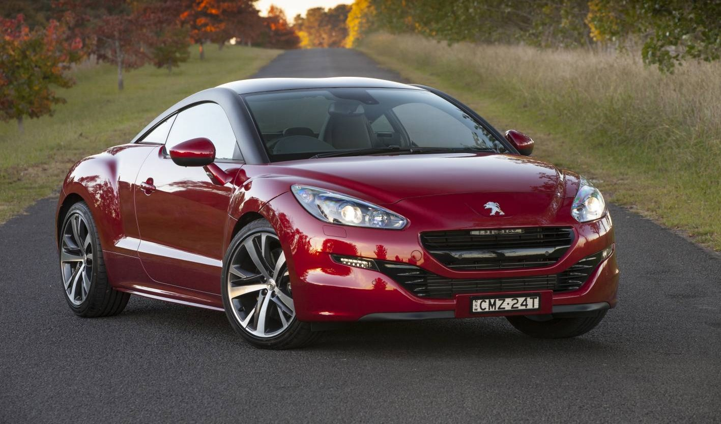 peugeot cars news rcz updated. Black Bedroom Furniture Sets. Home Design Ideas
