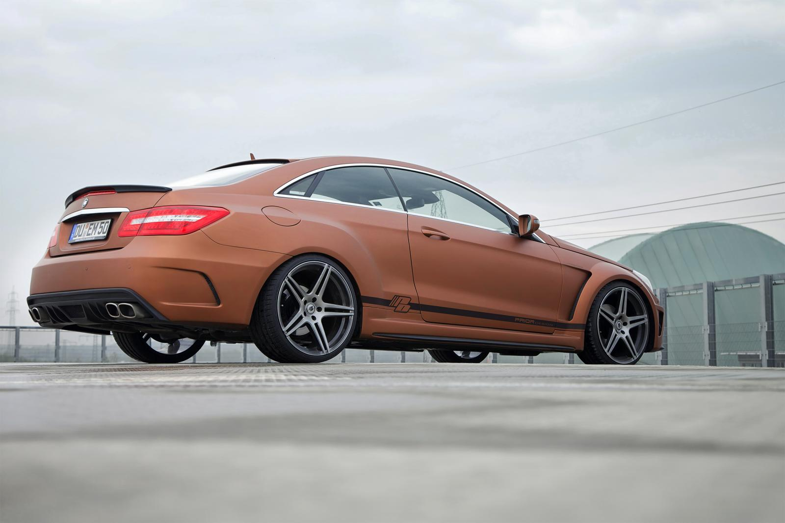 mercedes tuning prior design e class coupe widebody kit. Black Bedroom Furniture Sets. Home Design Ideas