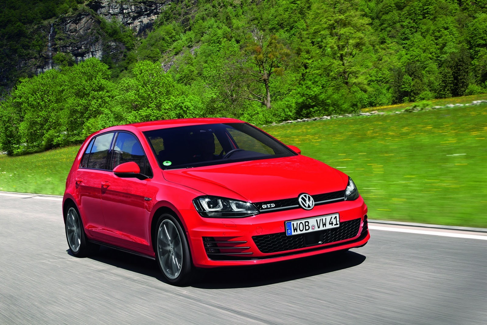 volkswagen cars news 2013 golf gtd official photos. Black Bedroom Furniture Sets. Home Design Ideas