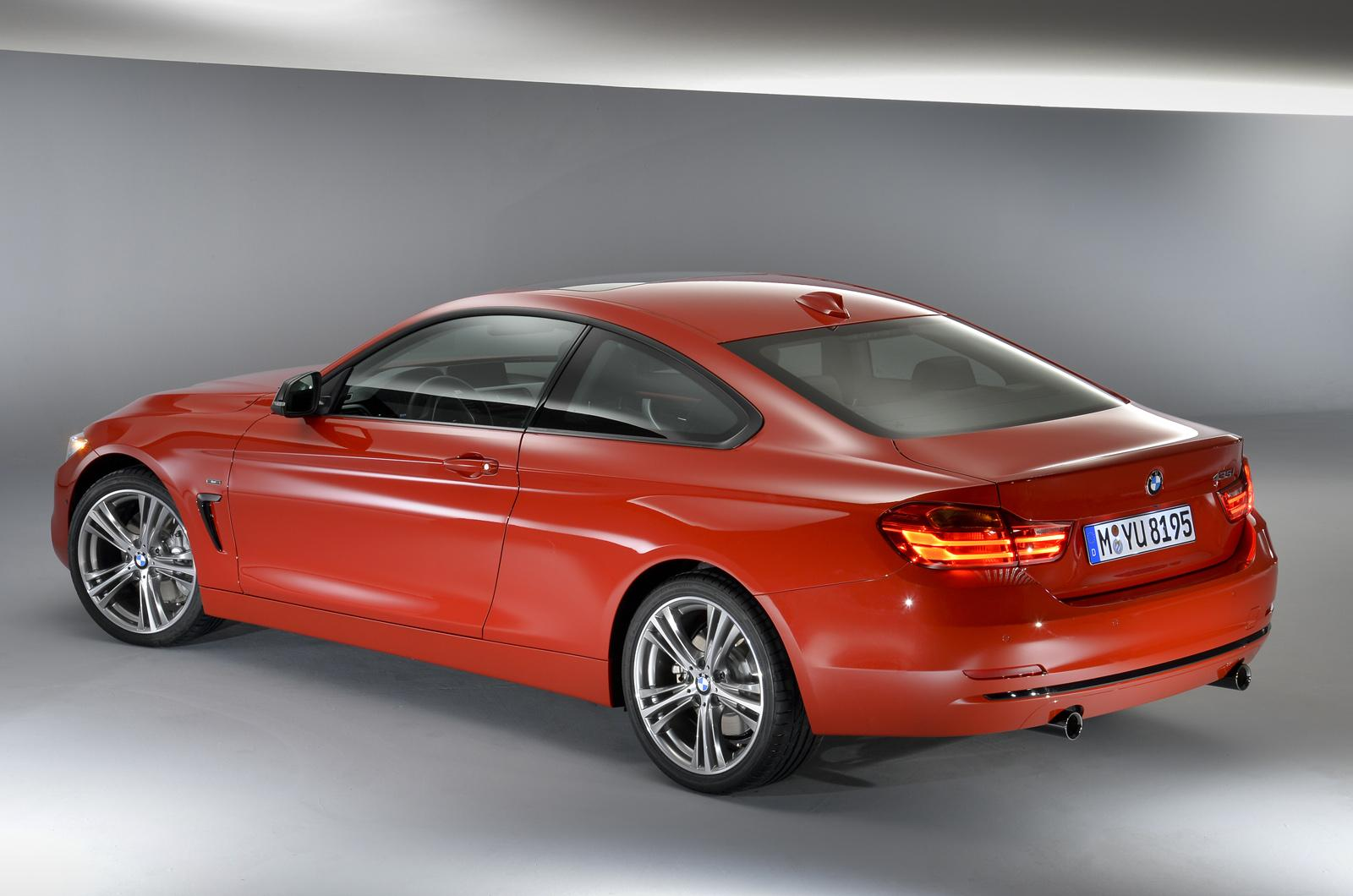 Bmw Cars News All New 2014 Bmw 4 Series Coupe Officially Revealed