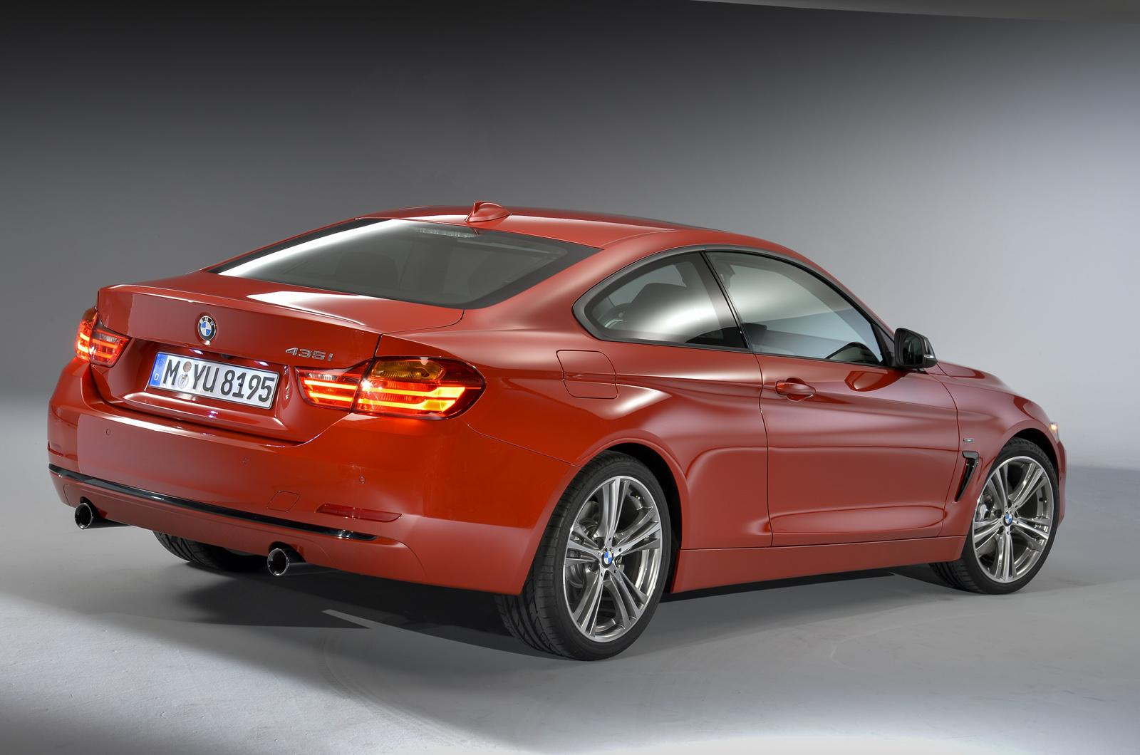 Bmw Cars News All New 2014 Bmw 4 Series Coupe