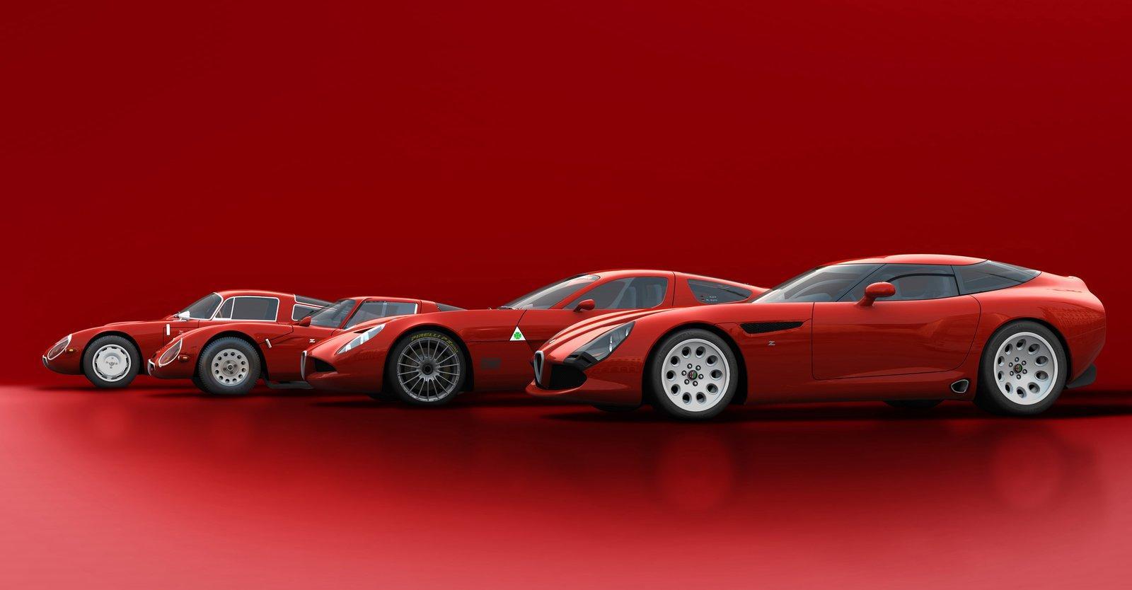 Alfa romeo tz3 stradale engine 15