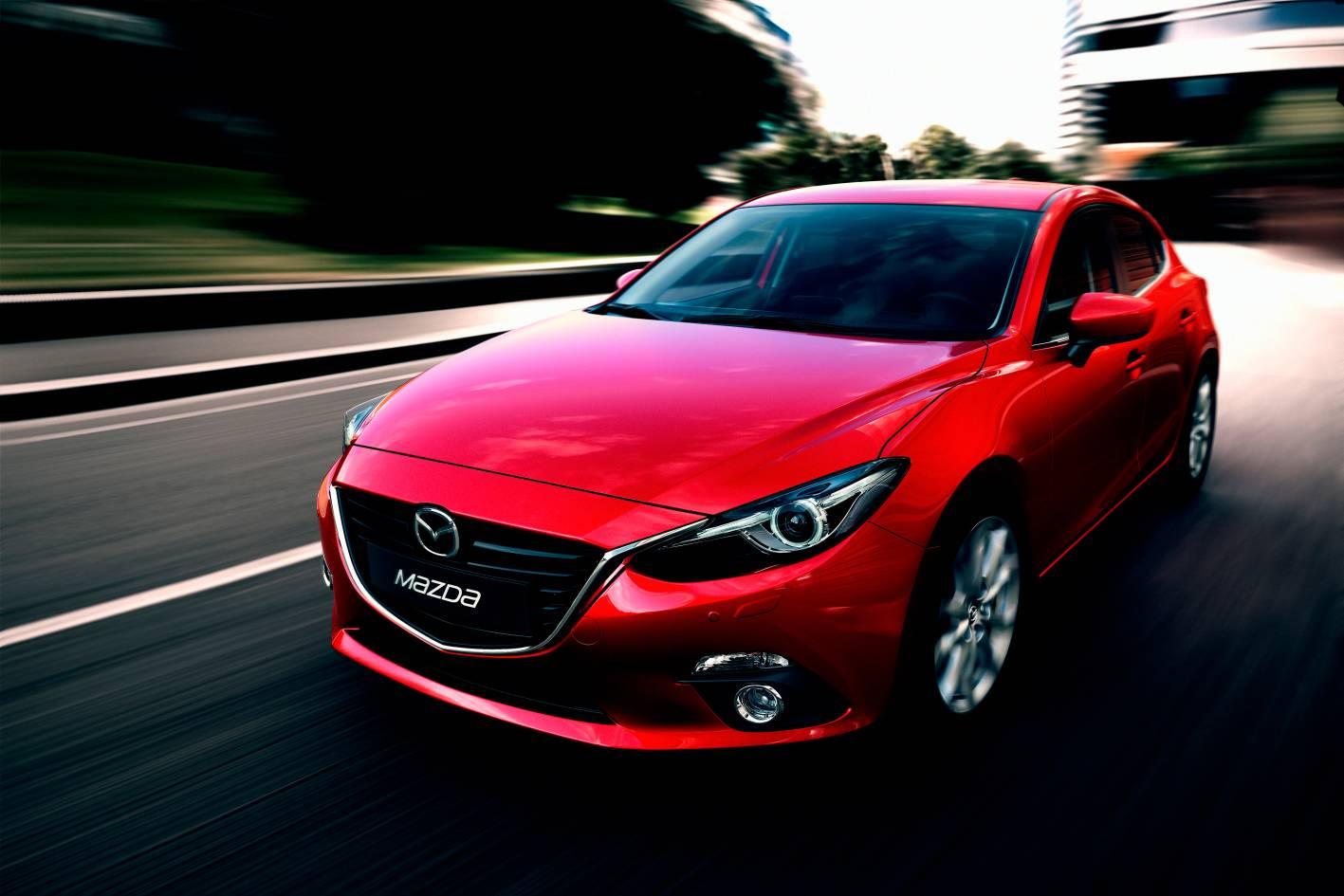 mazda cars news 2014 mazda3 breaks cover. Black Bedroom Furniture Sets. Home Design Ideas