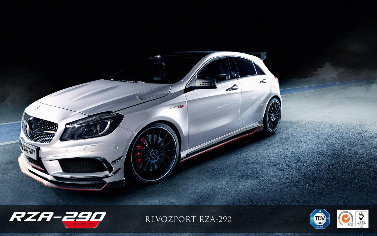 Mercedes tuning benz a class by revozport for Mercedes benz tuning