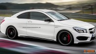 Mercedes-Benz CLA45 AMG Coupe render - main