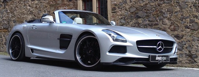 Mercedes-Benz SLS AMG Roadster by Inden Design-main
