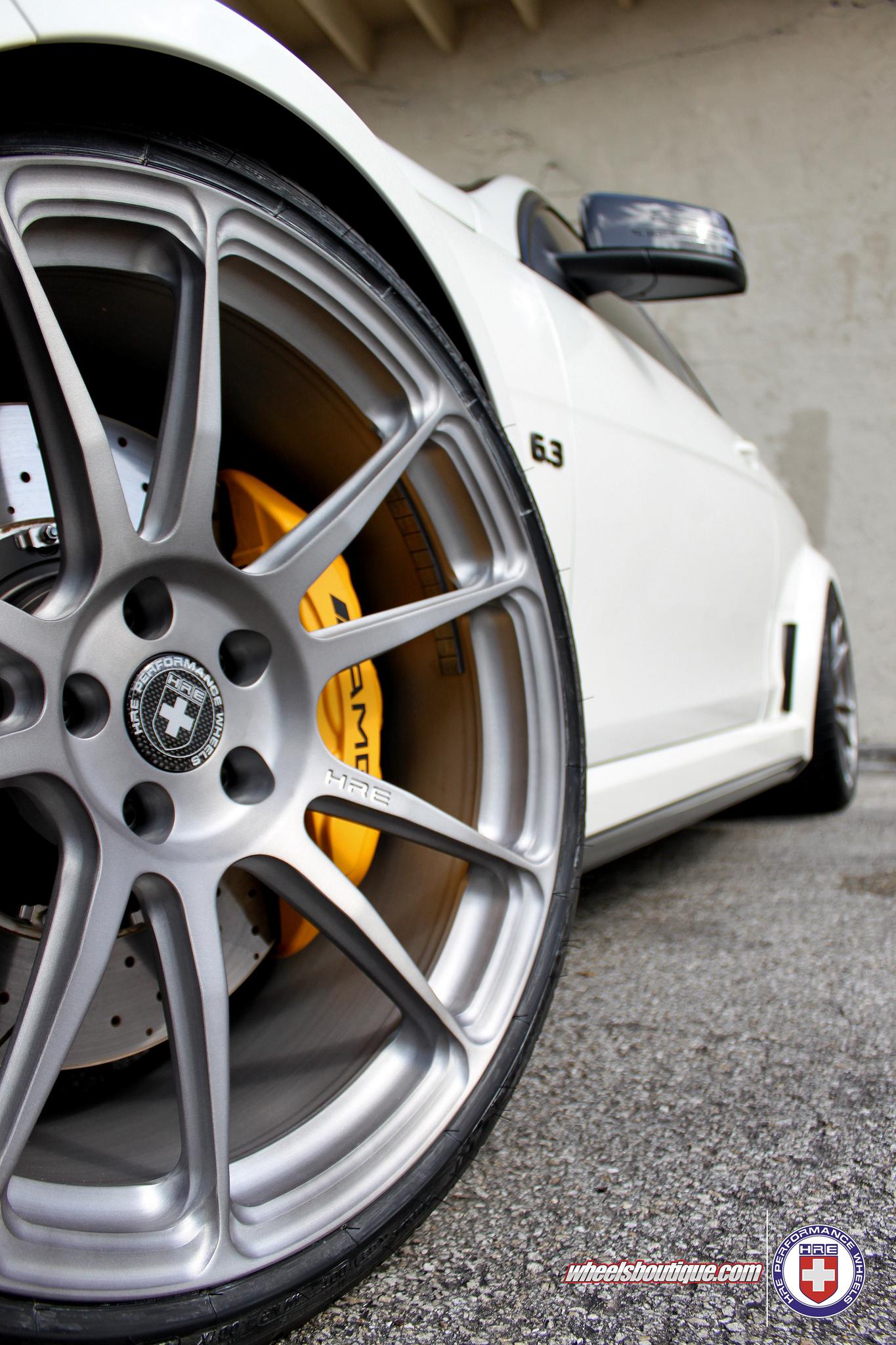 Chevy Volt Body Kit >> Mercedes Tuning: Wheels Boutique & HRE tweaked C63 AMG Black