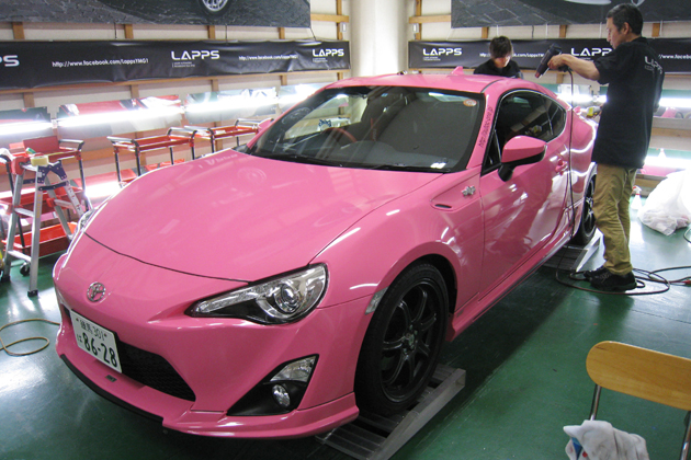 Toyota Of Alvin >> LAPPS wraps Toyota 86 in pink - ForceGT.com
