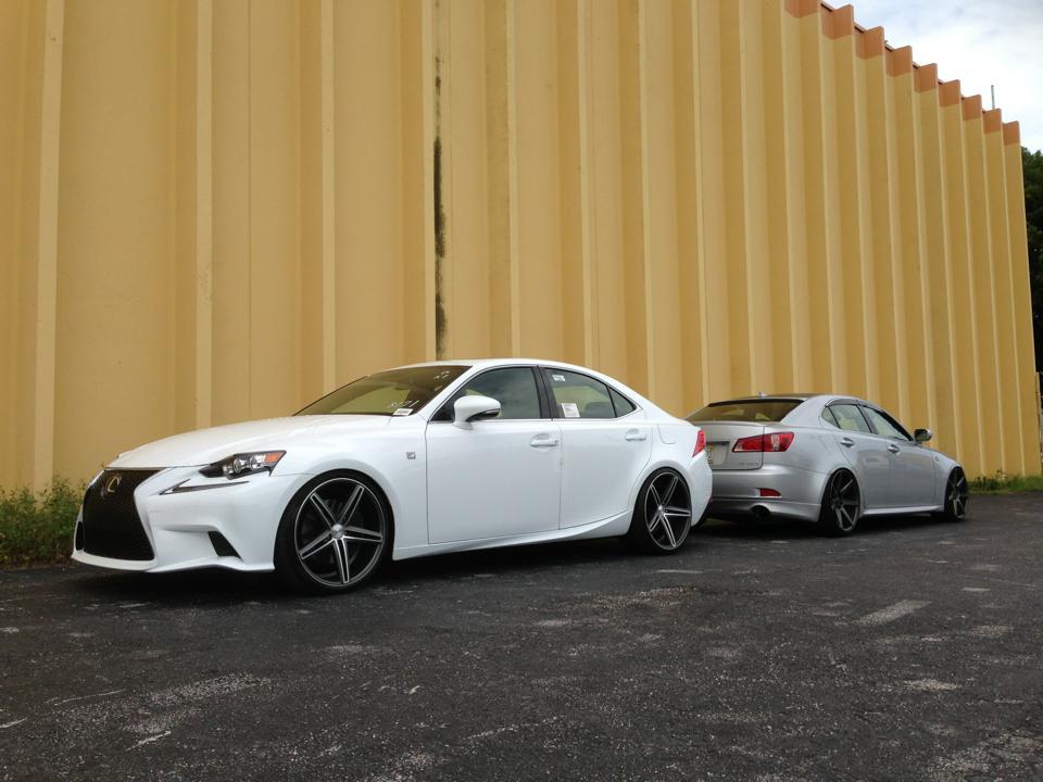 Lexus Isf 2014 Vossen