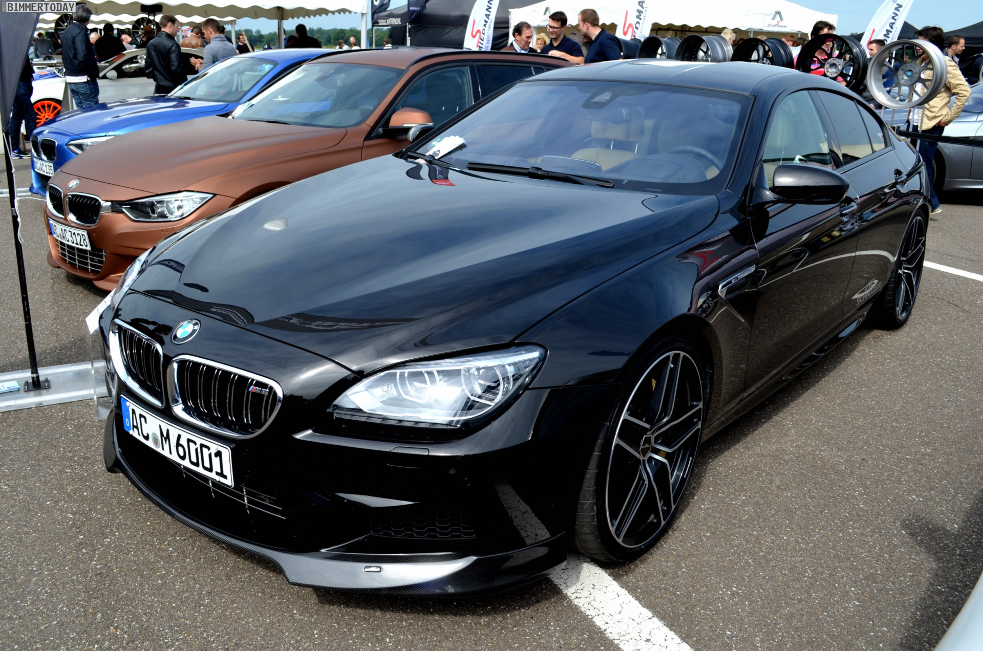 ac schnitzer tunes bmw m6 gran coupe. Black Bedroom Furniture Sets. Home Design Ideas