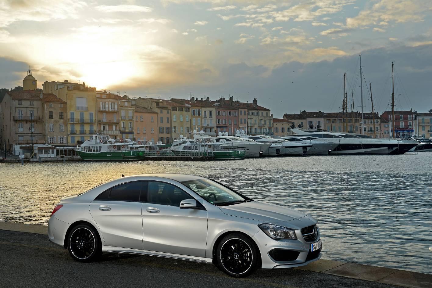 mercedes cars news cla 250 sport 4matic arriving july. Black Bedroom Furniture Sets. Home Design Ideas