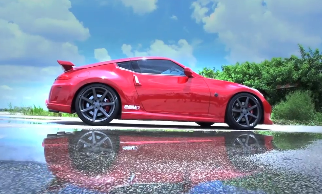Nissan Cars News 370z Nismo With Vossen Wheels