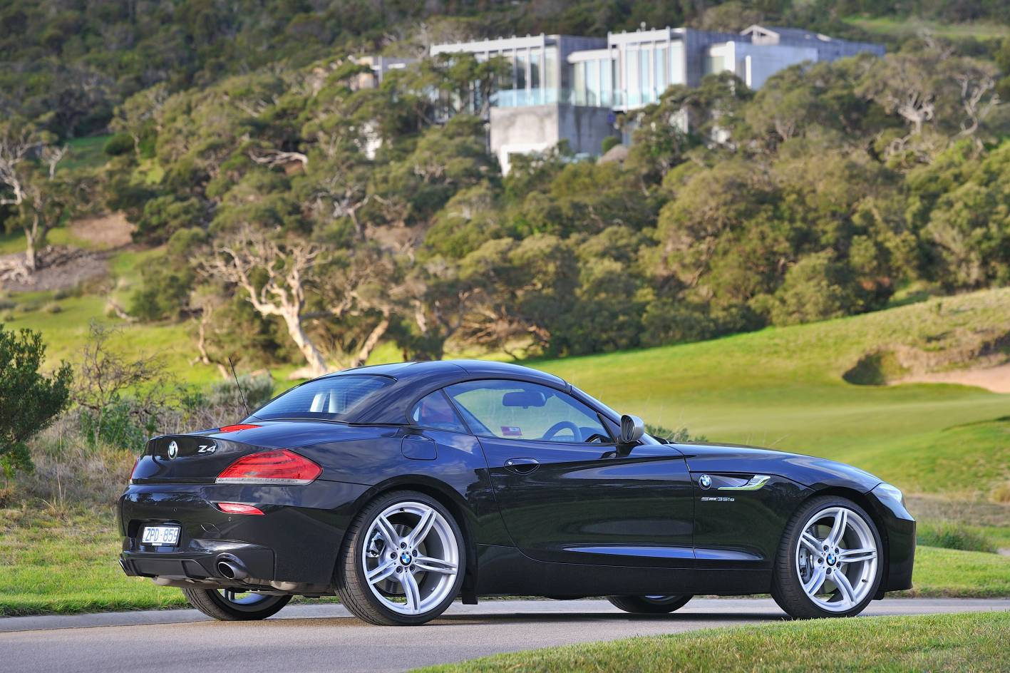 2013 Bmw Z4 35is Side Top Up Forcegt Com